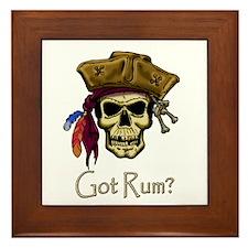 Got Rum? Framed Tile