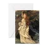 The Lady Ophelia Greeting Cards (Pk of 20)