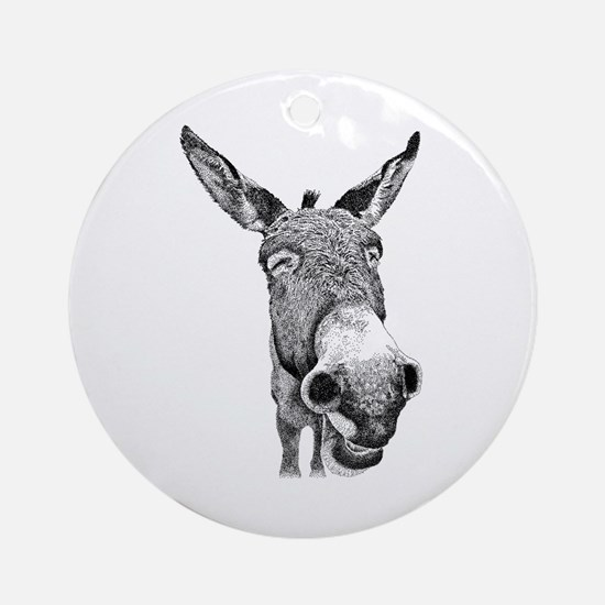 Jackass Ornament (Round)