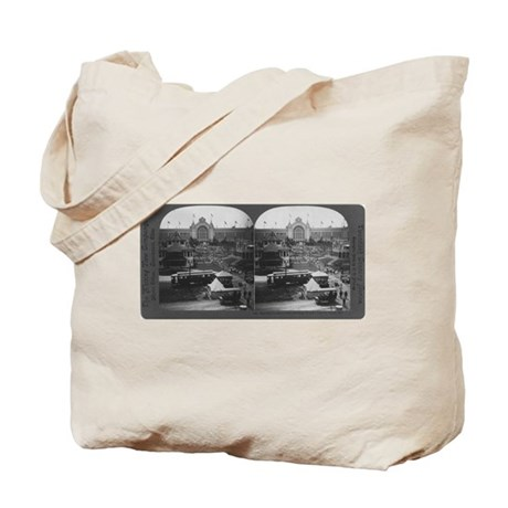Agriculture Building Stereogr Tote Bag