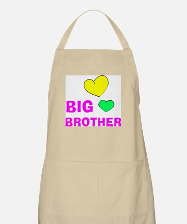 Love Big Brother BBQ Apron