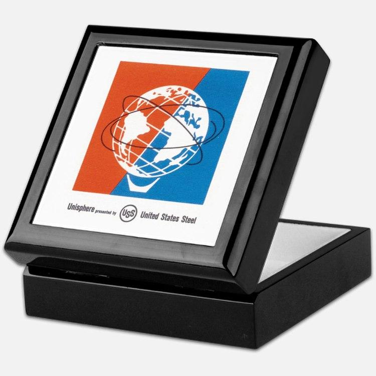 Classic NY World's Fair Keepsake Box