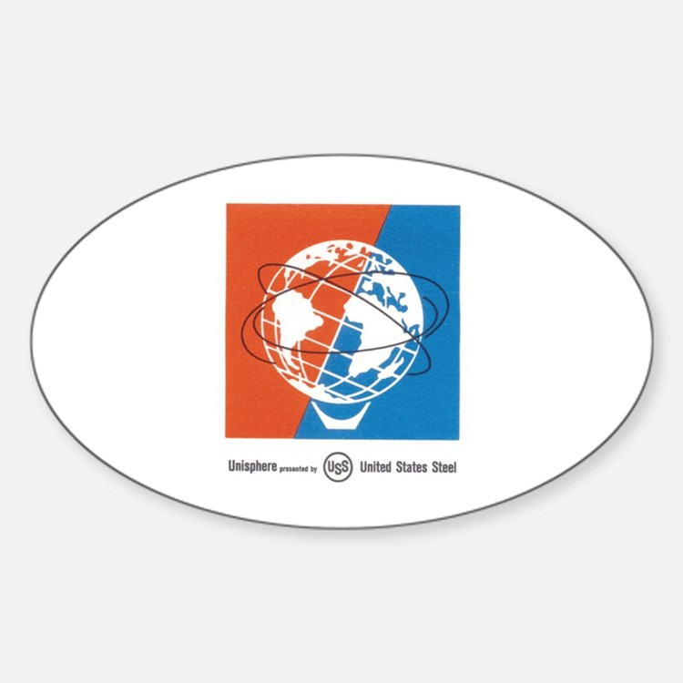 Classic NY World's Fair Oval Decal
