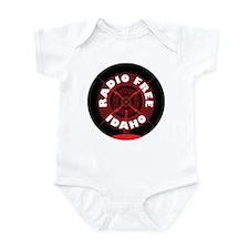 Radio Free Idaho Infant Bodysuit