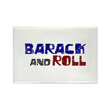 Barack and Roll (Obama) Rectangle Magnet (100 pack