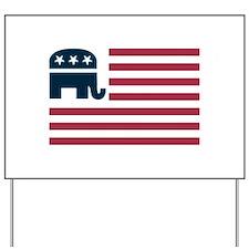 GOP Flag Yard Sign
