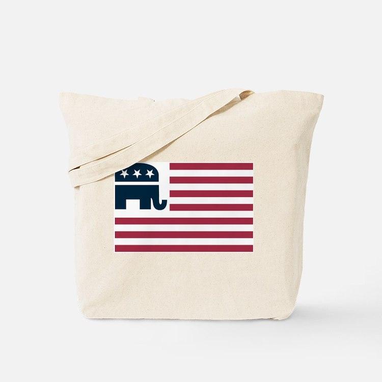 GOP Flag Tote Bag