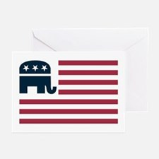 GOP Flag Greeting Cards (Pk of 10)