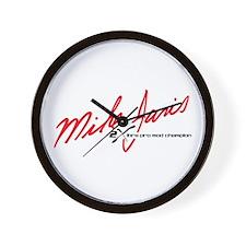 Mike Janis Racing Wall Clock
