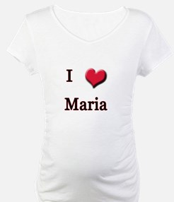 I Love (Heart) Maria Shirt