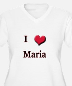 I Love (Heart) Maria T-Shirt