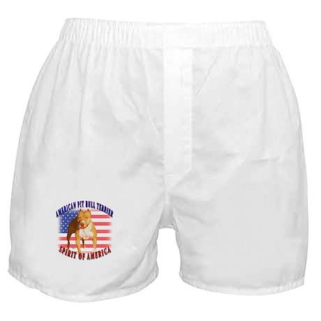 APBT spirit of America design Boxer Shorts