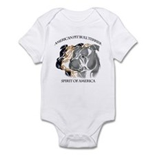 apbt,pit bull, amstaff, bully spirit design Infant