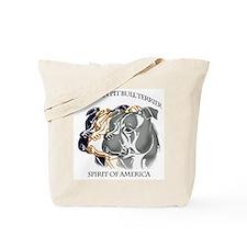 apbt,pit bull, amstaff, bully spirit design Tote B