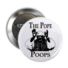 The Pope Poops (Button)