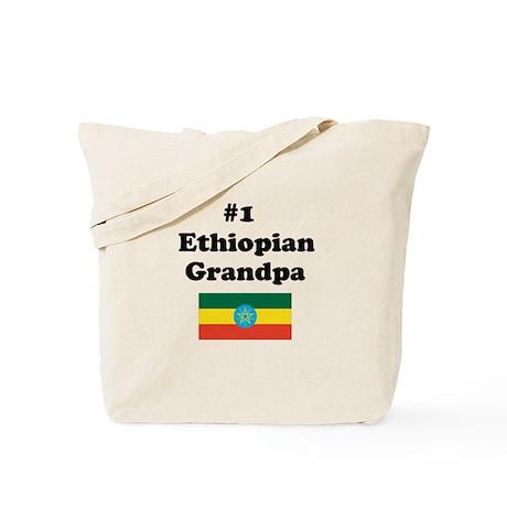 #1 Ethiopian Grandpa Tote Bag