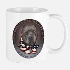 Blue Pit Bull Spirit design Mug