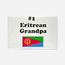 #1 Eritrean Grandpa Rectangle Magnet
