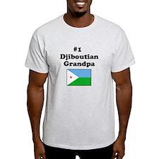 #1 Djiboutian Grandpa T-Shirt