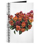 Red Pansies Journal