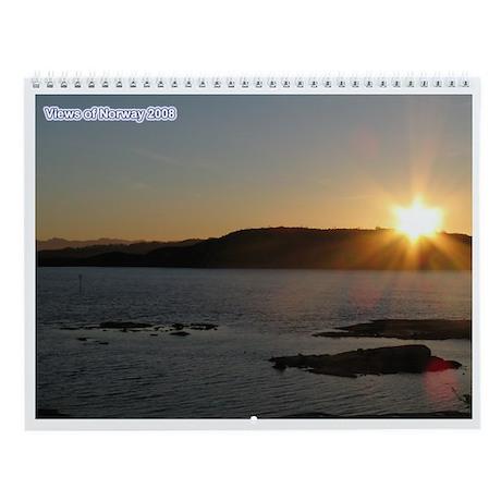 Norway Wall Calendar