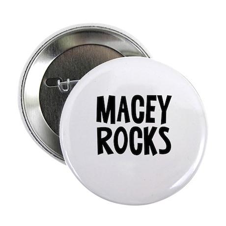 "Macey Rocks 2.25"" Button (10 pack)"