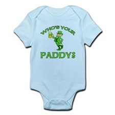 Leprechaun Who's Your Paddy Infant Bodysuit