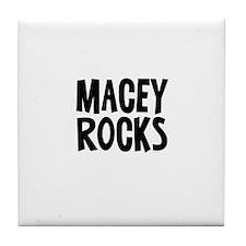 Macey Rocks Tile Coaster