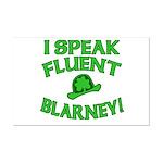 I Speak Fluent Blarney Mini Poster Print