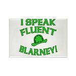 I Speak Fluent Blarney Rectangle Magnet (10 pack)