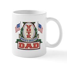 Vote World's Greatest Dad Mug