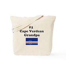 #1 Cape Verdean Grandpa Tote Bag