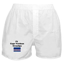 #1 Cape Verdean Grandpa Boxer Shorts