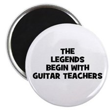 the legends begin with guitar Magnet