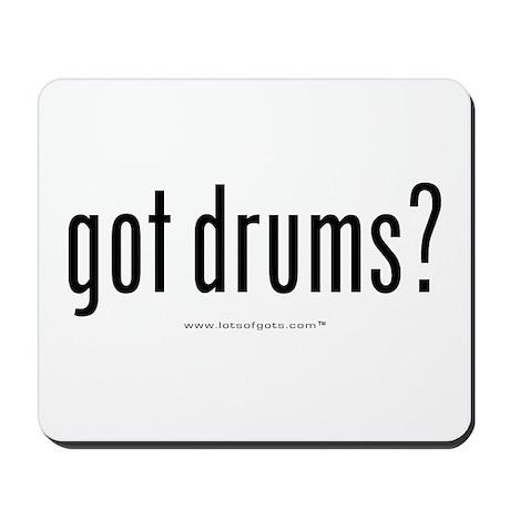 got drums? Mousepad