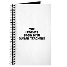 the legends begin with guitar Journal