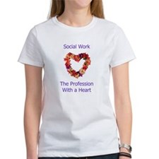 Social Work Heart Tee