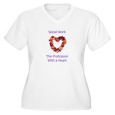 Social Work Heart T-Shirt