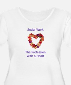 Social Work Heart T-Shirt