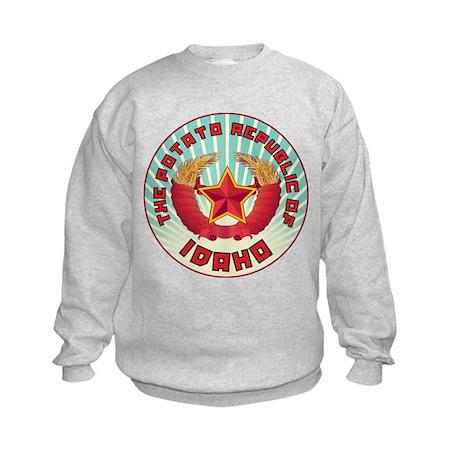 Potato Republic of Idaho Kids Sweatshirt