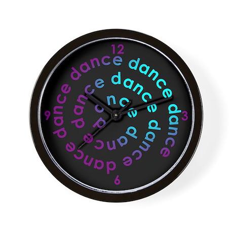 Dance Spiral Wall Clock