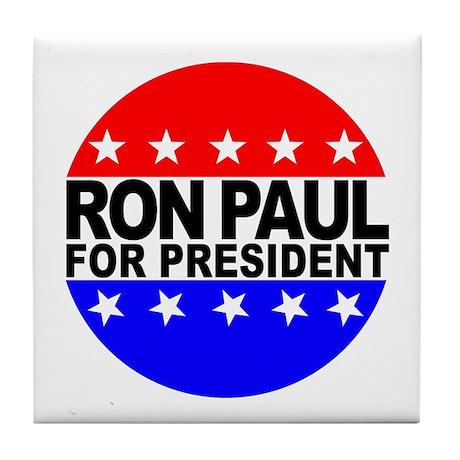 Ron Paul Tile Coaster