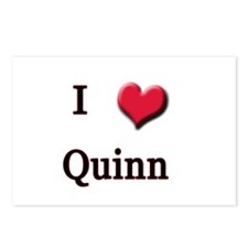 I Love (Heart) Quinn Postcards (Package of 8)