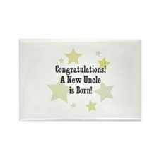 Congratulations! A New Uncle Rectangle Magnet (10