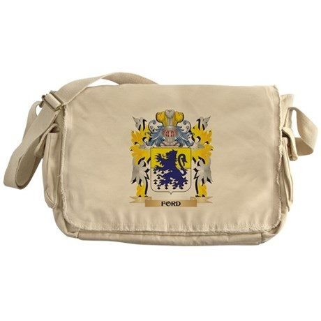 Ford Coat of Arms - Family Crest Messenger Bag
