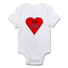Te Adoro Infant Bodysuit