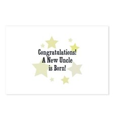 Congratulations! A New Uncle  Postcards (Package o