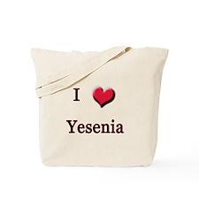 I Love (Heart) Yensenia Tote Bag