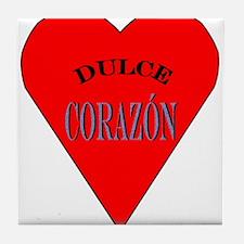 Dulce Corazón Tile Coaster