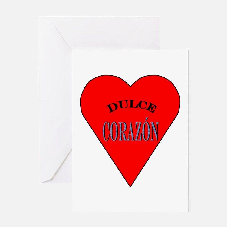 Dulce Corazón Greeting Card